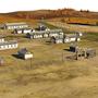Náhled 3D vizualizace virtuálního tábora Gulagu