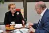 Návštěva Madeleine Albrightové (ABS a ÚSTR, 4.4.2011)