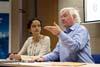 Návštěva delegace World Affairs Council  z Pittsburghu (Praha, 7.4.2011, foto: Robin Novák)