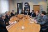 Návštěva předsedy Senátu Milana Štěcha v ÚSTR a ABS (Praha, 13.1.2012, foto: Přemysl Fialka)