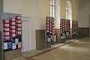 Instalace výstavy - Filozofická fakulta UK v Praze