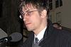 Vernisáž výstavy, Praha, FF UK, 20.3.2007 - PhDr. Petr Blažek představil edici dokumentů k organizaci a ohlasům kampaně proti Chartě 77 Tentokrát to bouchne