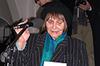 Vernisáž výstavy, Praha, FF UK, 20.3.2007 - Za signatáře Charty 77 promluvila paní Dana Němcová