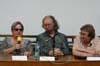 """Mezinárodní konference """"Bezpečnostní aparát, propaganda a Pražské jaro"""" - Agnieszka Hollandová, Jaroslav Suk a Petruška Šustrová"""
