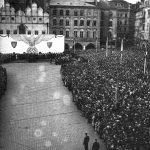 Manifestace na Staroměstském náměstí v Praze 2. června 1942