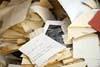 Roztrhané dokumenty MfS (Stasi)