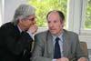Vedoucí oddělení BStU pro zpřístupňování dokumentů Joachim Förster a vedoucí jednoho z referátů Herbert Ziehm