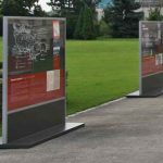 Fotografie z instalace výstavy