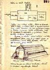 Nákres základny v Bedfordu z archivů StB I.