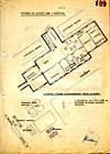 Nákres ubikací v Bedfordu z archivů Stb I.