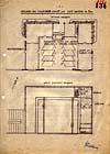 Nákres ubikací v Bedfordu z archivů Stb II.