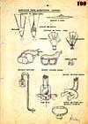 Nákres dobové potápěčské výstroje z archivů Stb II.