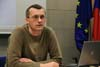 Přednáška Struktura Státní bezpečnosti a její vývoj, 13. 3. 2008 - přednášející PhDr. Prokop Tomek
