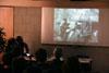 Diskusní seminář 20. výročí smrti Pavla Wonky, 17. 4. 2008 - promítání videojournalu - pohřeb Pavla Wonka