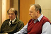 Diskusní seminář 20. výročí smrti Pavla Wonky, 17. 4. 2008 - Jiří Wonka a Petr Hauptmann