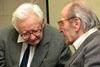 Diskusní seminář Intelektuálové a Pražské jaro 1968, 15. 5. 2008 - Jaroslav Kohout a Rudolf Battěk