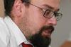Přednáška Evidence svazků a výpočetní technika Státní bezpečnosti, 26. 6. 2008 - Mgr. Patrik Benda