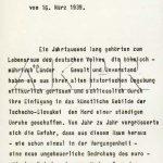 Výnos vůdce a říšského kancléře Adolfa Hitlera o zřízení protektorátu Čechy a Morava ze dne 16. března 1939 - 1/9. (Zdroj: AKPR)