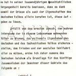 Výnos vůdce a říšského kancléře Adolfa Hitlera o zřízení protektorátu Čechy a Morava ze dne 16. března 1939 - 3/9. (Zdroj: AKPR)