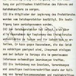 Výnos vůdce a říšského kancléře Adolfa Hitlera o zřízení protektorátu Čechy a Morava ze dne 16. března 1939 - 6/9. (Zdroj: AKPR)