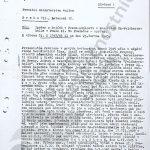 Ukázka z vyšetřování událostí Na Pražačce v Praze na Žižkově, které bylo započato ihned po skončení války. (zdroj: ABS)