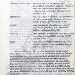 Závěrečná zpráva vyšetřovací komise z roku 1973, ve které je detailně popsán průběh událostí ve škole Na Pražačce v Praze na Žižkově. (zdroj: ABS)