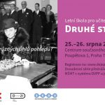 Pozvánka na letní školu Druhé strany dějin (Praha, Centrem současného umění DOX 25.–26.08.2016)