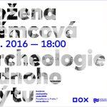 Pozvánka na komponovaný večer Božena Němcová. Archeologie jednoho mýtu (Praha, Centrem současného umění DOX 25.08.2016)