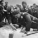 Inspekční cesta Hermanna Göringa na frontu v Haliči.