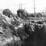 Německá pěchota při bitvě o Varšavu.