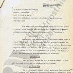 Německý záznam o vysílání polského rozhlasu ze 4. září 1939, ve kterém polský prezident oznámil výnos o utvoření československých legií, a dopis Edvarda Beneše britskému premiérovi Chamberlainovi ze stejného dne. (1/2)