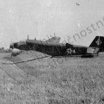 Havarované německé dopravní letadlo Junkers Ju 52