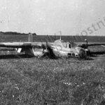Havarovaný německý letoun Dornier Do 17