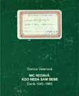 Obálka publikace Nic nedává, kdo nedá sám sebe. Deník 1945–1960 - ilustrační foto