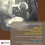 """Pozvánka na prezentaci publikace Akce """"K"""" – Vyhnání sedláků a jejich rodin z usedlostí v padesátých letech"""