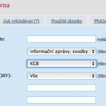 Filtr vyhledávání KGB dokumenty