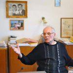 Karel Vysloužil - fotografie z natáčení (24.11.2009)