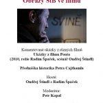 """Pozvánka na filmový seminář """"Obrazy StB ve filmu"""" (ÚSTR, 29.4.2010)"""