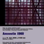 """Pozvánka na seminář """"Amnestie 1960"""" (ÚSTR, 14.10.2010)"""