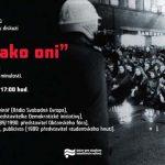 """Pozvánka na panelovou diskuzi """"Nejsme jako oni"""" (ÚSTR, 18.11.2010)"""