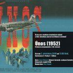 """Pozvánka na filmový seminář """"Únos (1952), filmová propaganda v 50. letech"""" (ÚSTR, 2.12.2010)"""