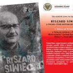 """Pozvánka na besedu """"Ryszard Siwiec a polsko-česká historická setkávání"""" (Praha, Polský institut, 7.3.2011)"""