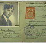 Řidičský průkaz Ctirada Mašína byl vydán vbřeznu 1950 (Archiv Ctirada Mašína)