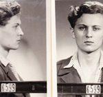 Fotografie Ctirada Mašína se dochovaly ve vězeňském spise, 1951 (Národní archiv)