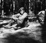 Ctirad Mašín na cvičení, okolo 1955 (Archiv Josefa Mašína)