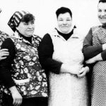 Ženy JZD Javořina Dolní Němčí (okres Uherské Hradiště)