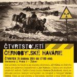 """Pozvánka na seminář """"Čtvrtstoletí černobylské havárie"""" (ÚSTR, 21.4.2011)"""