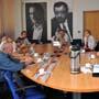 Návštěva poslanců Marka Bendy, Zdeňka Bezecného a Daniela Korteho (Praha, 13.9.2011)