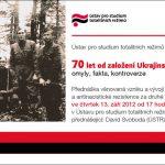 Pozvánka na seminář 70 let od založení Ukrajinské povstalecké armády: omyly, fakta, kontroverze (ÚSTR, 13.09.2012)