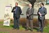 Slavnostní zahájení konference v zahradě českobudějovického archivu (České Budějovice, 17.–18.04.2013)
